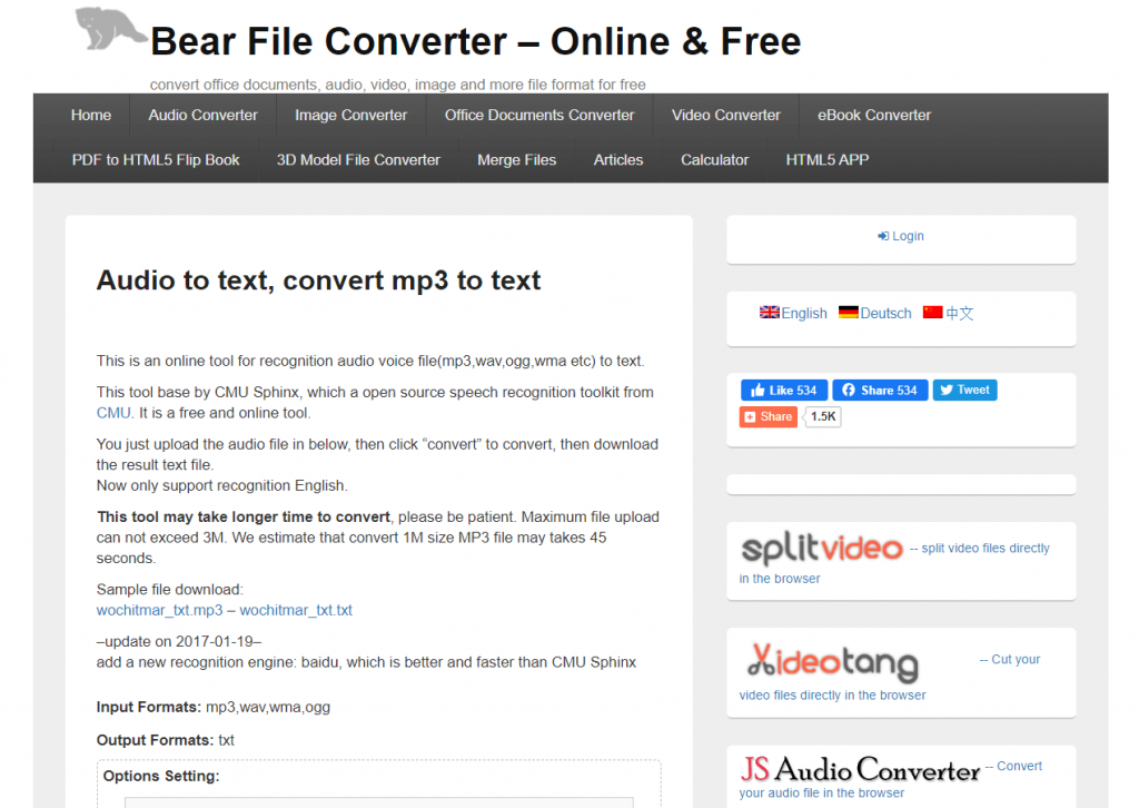 How To Translate Audio To Text Best Free Online Programs,bear file converter