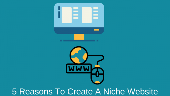 5 Reasons To Create A Niche Website